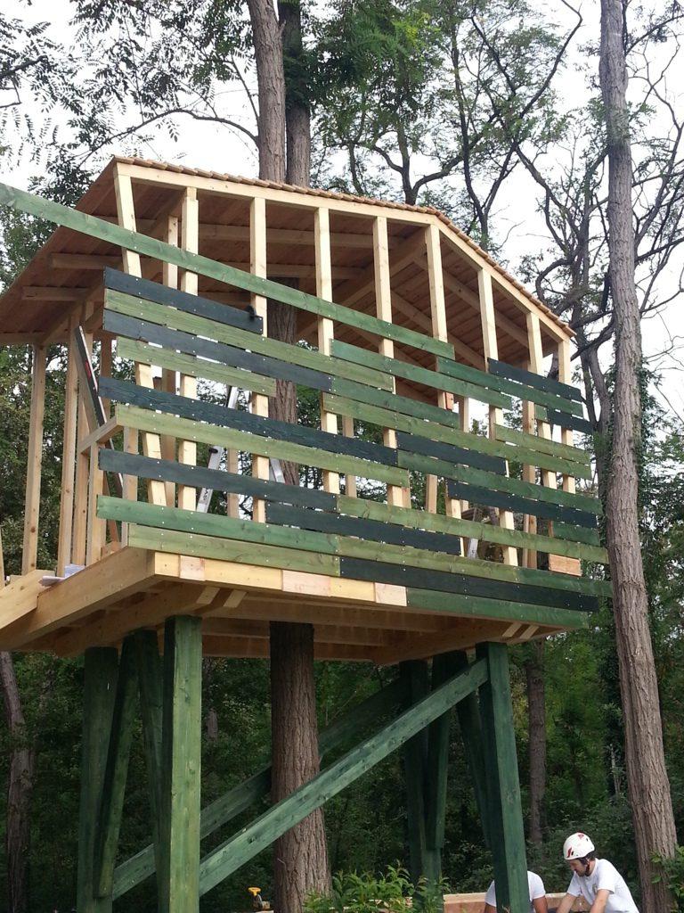 Progetto casa sull albero wwf armalam - Casa sull albero progetto ...
