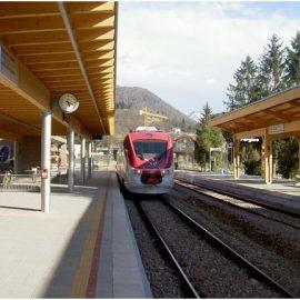 La nuova stazione di Pergine Valsugana (TN)