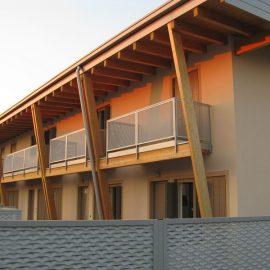Edifici residenziali in legno a Flero (BS)