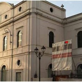 Sopraelevazione torre scenica Teatro Zandonai a Rovereto