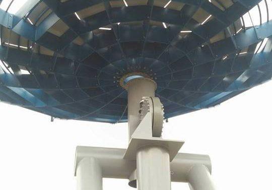 Parabola vicino a Rovereto (TN)
