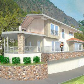 Casa unifamiliare Sanzeno (TN)