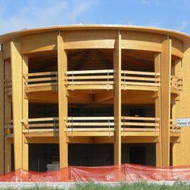Edificio in legno adibito a show room – Scandiano (RE)