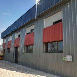 Ristrutturazione capannone a Vò (PD) con smaltimento amianto